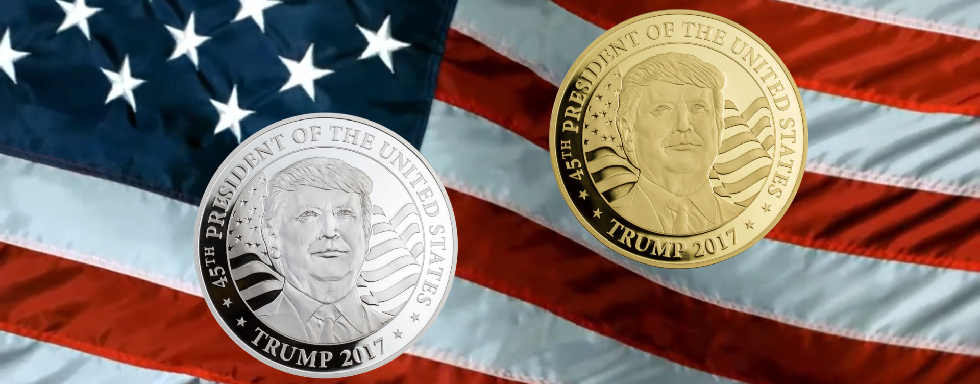 World S 1st Legal Tender Donald Trump Coins World