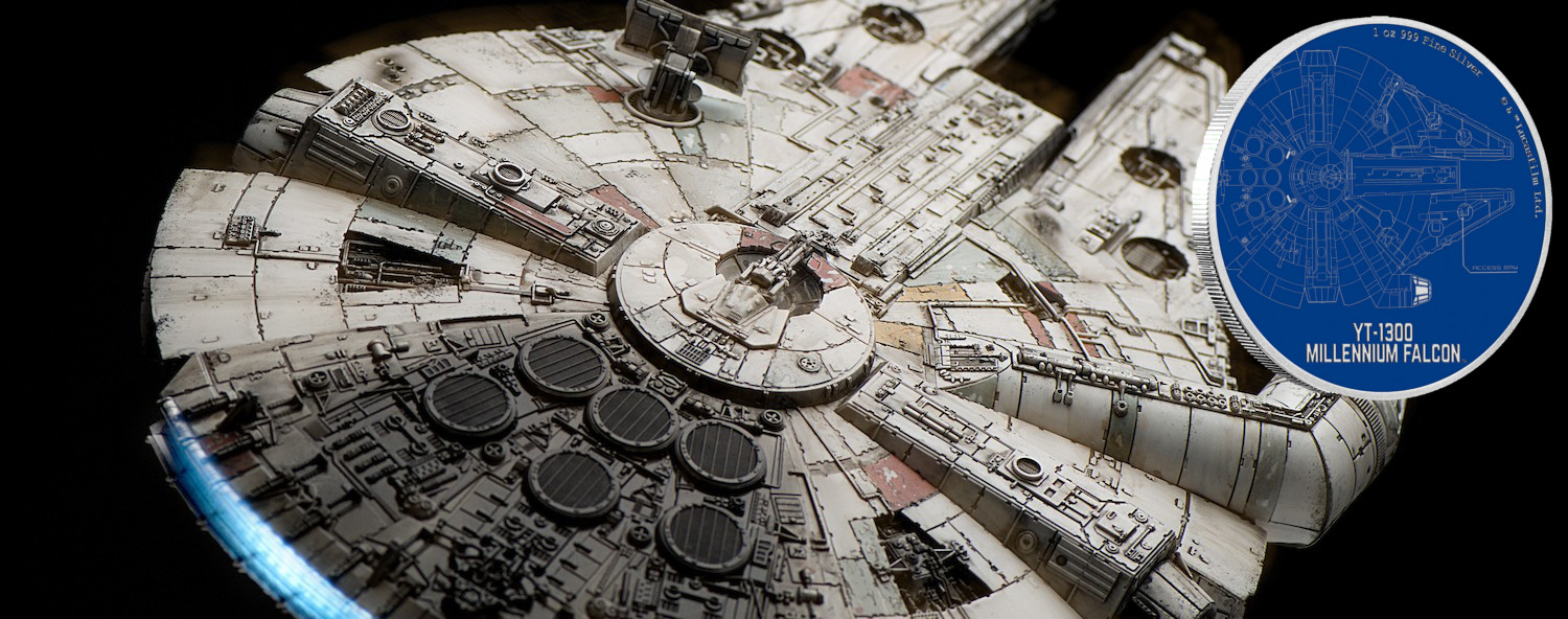 New Zealand Mint Launches New Star Wars Ships Silver Coin