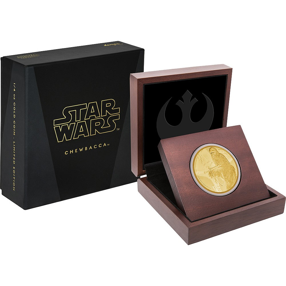 Chewbacca Roars Onto Classic Star Wars Coin Collection