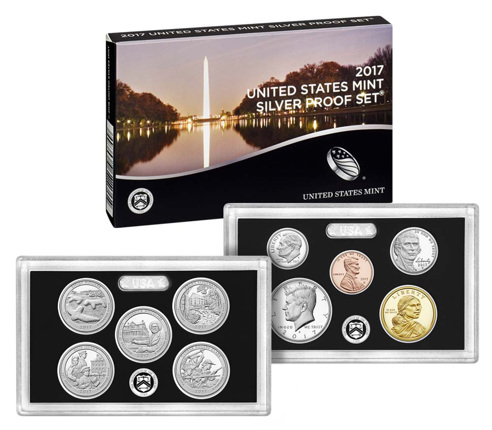 Us Mint Releases The 2017 Annual Silver Proof Coin Set