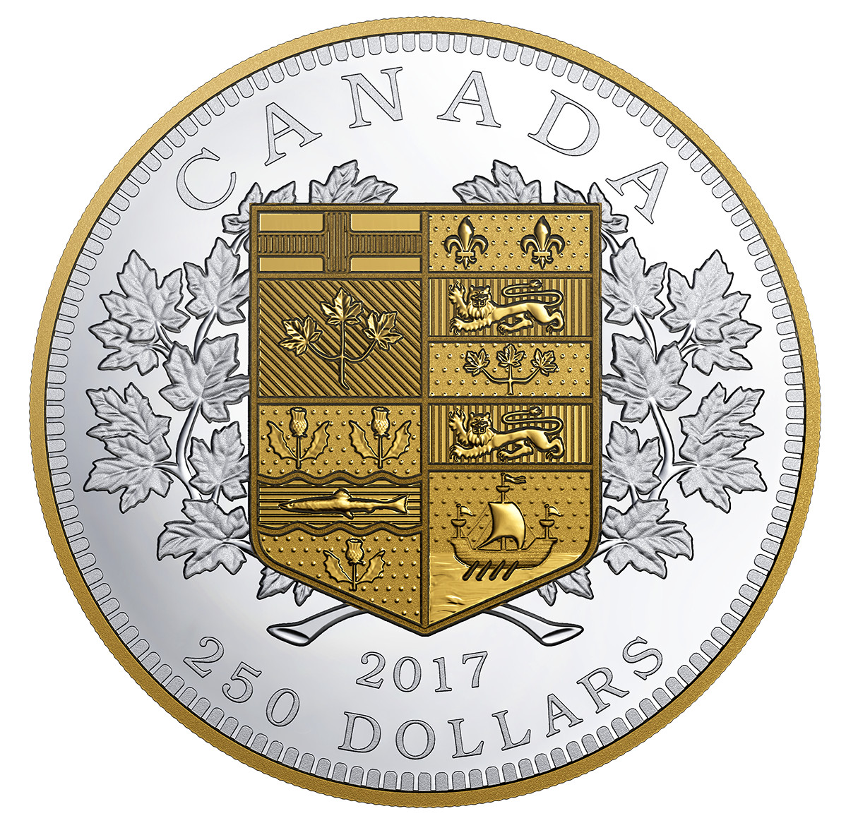 Commemorative Coins From Royal Canadian Mint For July 2017