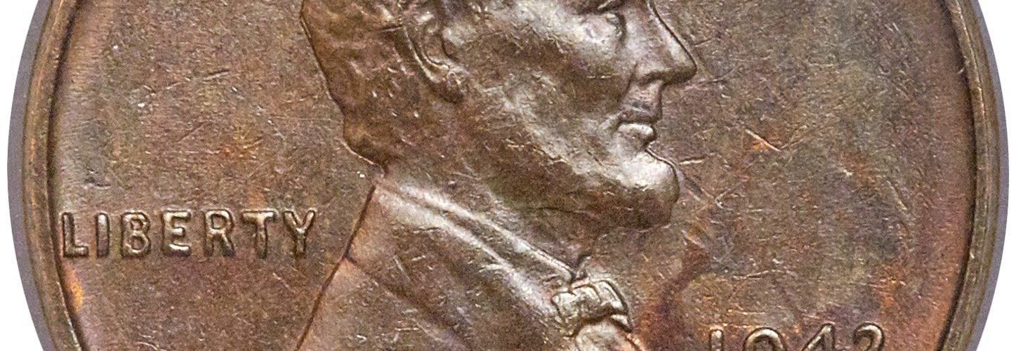 1943 Bronze Lincoln Cent Obverse, NGC MS62BN