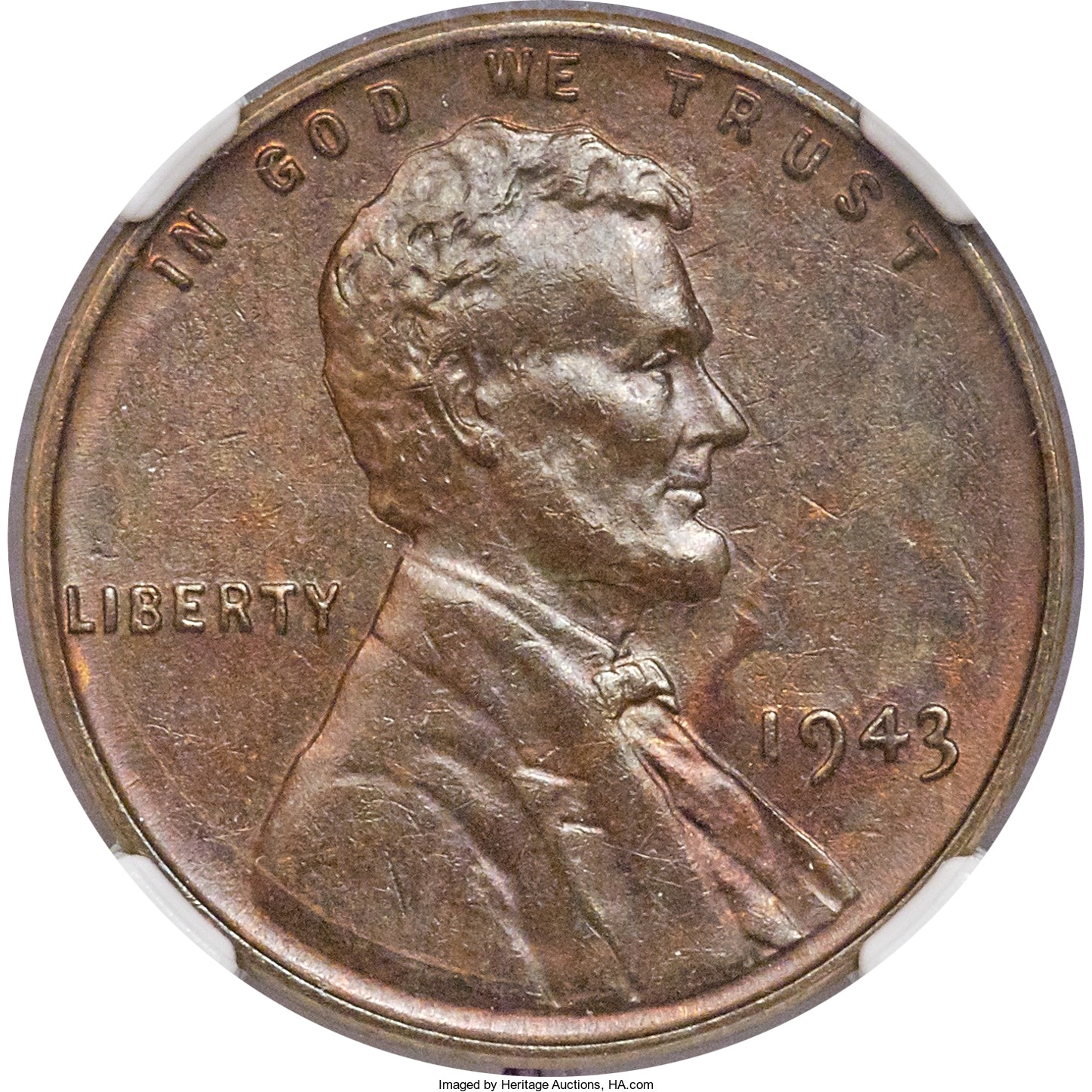 Rare 1943 Copper Wheat Ear Cent Sold for $282 000 – World Numismatic