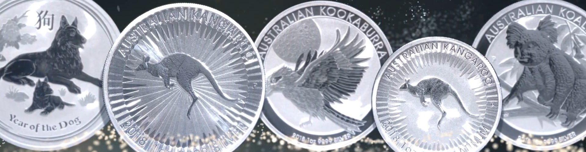 Perth Mint 2018 Bullion Coins Splash