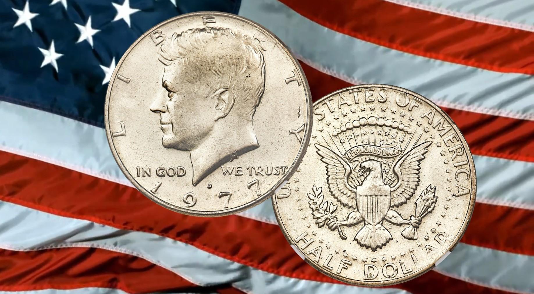 The 1977 Kennedy Half Dollar Coins Worth Big Money World